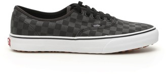 Vans Checkered Effect Lace Up Sneakers