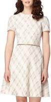 Tahari Women's Boucle Fit & Flare Dress