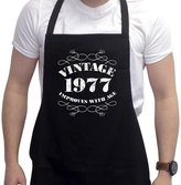 BANG TIDY CLOTHING Men's 40th Birthday Gift Apron Vintage 1977 Aprons 40th Birthday Gifts