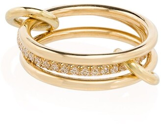 Spinelli Kilcollin Sonny 18kt yellow gold diamond ring