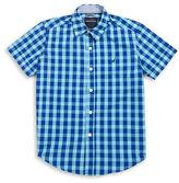 Nautica Boys 8-20 Cotton-Blend Button-Front Shirt
