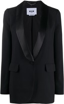 MSGM long-line single breasted blazer