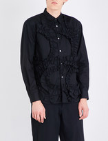 Comme des Garcons Frilled regular-fit cotton shirt