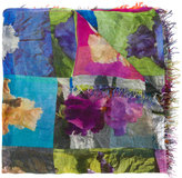 Faliero Sarti multi-patterned scarf