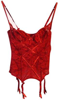 Chantal Thomass \N Red Lace Lingerie for Women Vintage