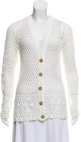Crocheted Cardigan Shopstyle