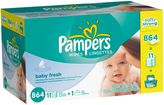 Pampers 864-Count Baby Fresh Baby Wipes