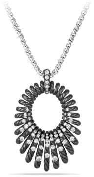 David Yurman Tempo Pendant Necklace With Diamonds