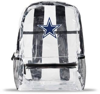 clear Dallas Cowboys Team Logo School Bag