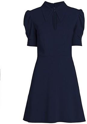 Stella McCartney Blair Puff-Sleeve Dress