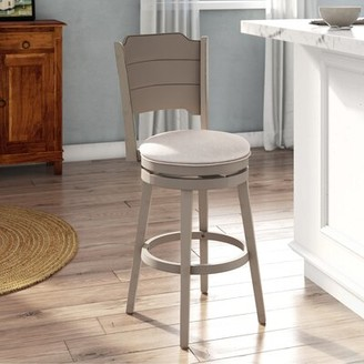 Rosecliff Heights Kinsey Bar & Counter Swivel Stool Rosecliff Heights
