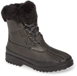 Sperry Maritime Faux Fur Lined Snow Duck Boot