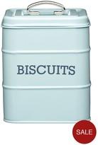 Kitchen Craft Living Nostalgia Vintage Biscuit Tin - Blue