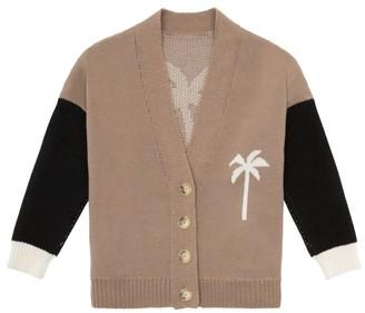 Palm Angels PXP Virgin Wool Cardigan