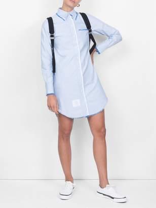 Thom Browne classic shirtdress blue