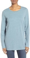 Eileen Fisher Petite Women's Organic Cotton Jersey Top