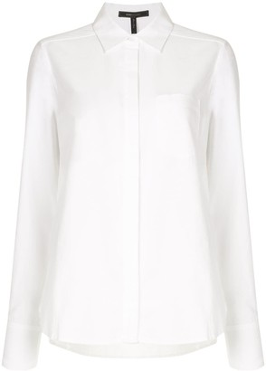 BCBGMAXAZRIA Patch Pocket Long Sleeve Shirt