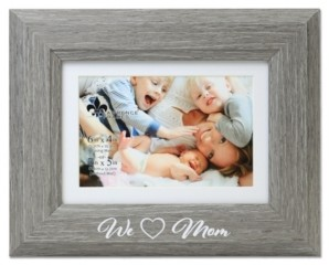 Lawrence Frames We Love Mom Picture Frame with Mat - Willow