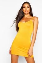boohoo Freida Basic Strappy Cami Bodycon Dress