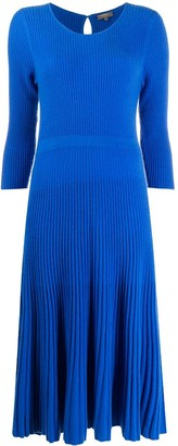 N.Peal Ribbed Knit Dress