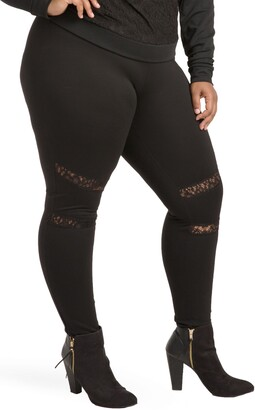 Poetic Justice Janet Curvy Fit Leggings