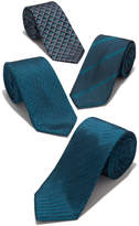 "Alfani Men's Aqua 2.75"" Slim Tie, Created for Macy's"