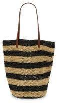Lord & Taylor Field Brow Striped Shopper