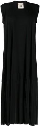 Semi-Couture Pleated Hem Dress