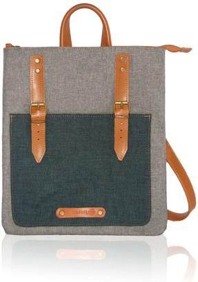 Bonendis City Backpack / Cross Body Bicolor Blue