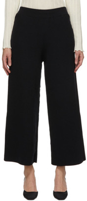 RUS Black Merino Hashi Lounge Pants