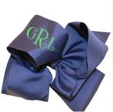 Party Cat Personalized Navy Bow