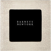 "Barneys New York Lizard-Stamped Studio 4"" x 4"" Picture Frame"