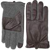 Polo Ralph Lauren Nappa Hybrid Gloves with Vent (Circuit Brown) Over-Mits Gloves