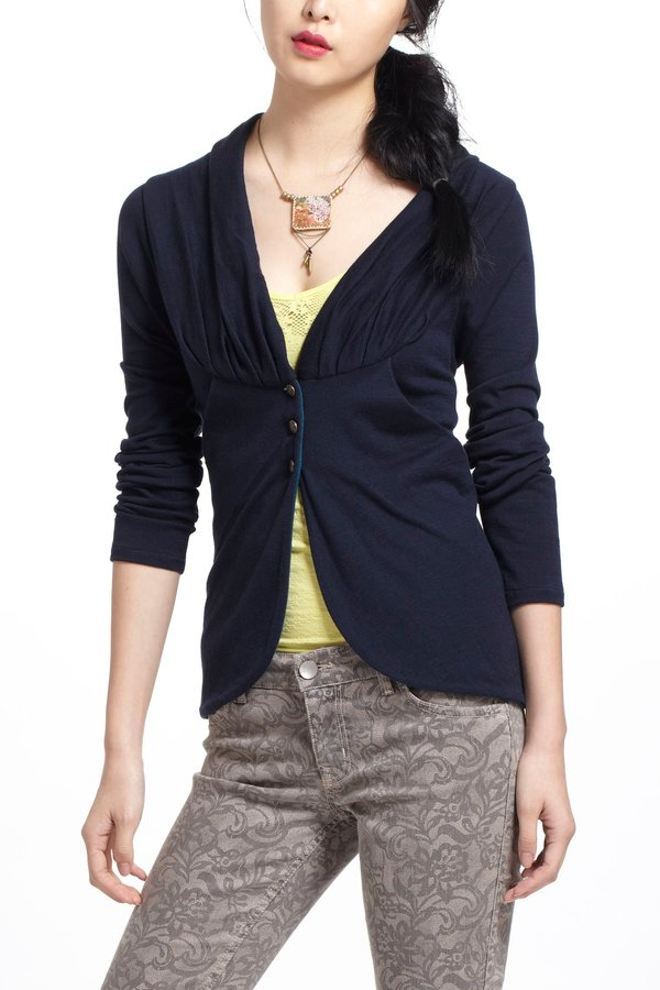 Anthropologie Tulip Knit Jacket