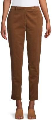 Tommy Hilfiger Corduroy Slim Ankle Pants