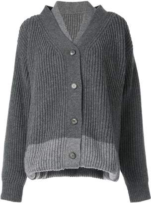 Maison Margiela triple way cardigan
