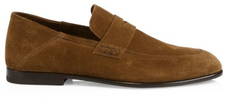 Harry's of London Edward Soft Suede Penny Loafers