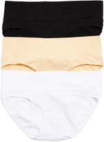 Motherhood Foldover Maternity Hipster Panties (3 Pack)