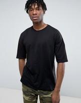 Pull&bear Oversized T-shirt In Black