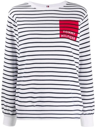 Tommy Hilfiger Breton stripe knit top