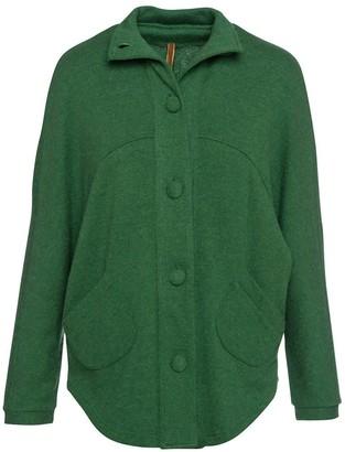 Conquista Raglan Sleeve Jacket In Green
