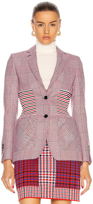 Burberry Ainslee Tailored Jacket in Bright Red | FWRD
