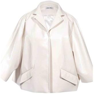 Miu Miu Ecru Jacket for Women