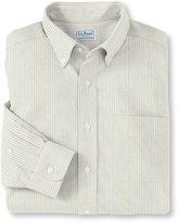 L.L. Bean Wrinkle-Free Classic Oxford Cloth Shirt, Traditional Fit University Stripe