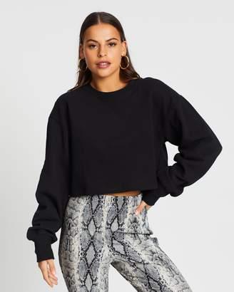 Supre Kayla Long Sleeve Crop Sweater