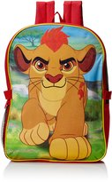 Disney Little Boys Lion Guard Backpack with Lunch Kit