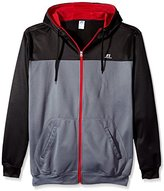 Russell Athletic Men's Big and Tall Full-Zip Performance Fleece Hooded Jacket