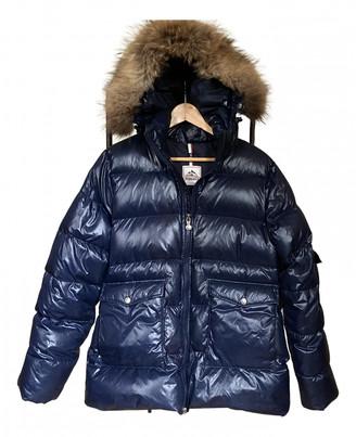 Pyrenex Navy Synthetic Coats