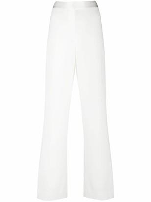 Dvf Diane Von Furstenberg High-Rise Straight Leg Trousers
