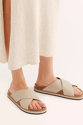 Free People Fp Collection Sidelines Footbed Sandal by FP Collection at